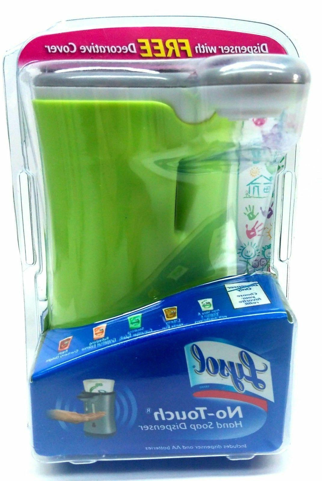 No-Touch Dispenser WHITE with Decorative Cover