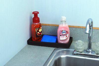Organizer Holder x Tray Kitchen Sink Black New