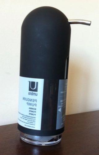 penguin pump black soap pump