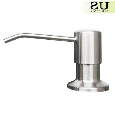 500ML Stainless-Steel Kitchen Pump Easy US