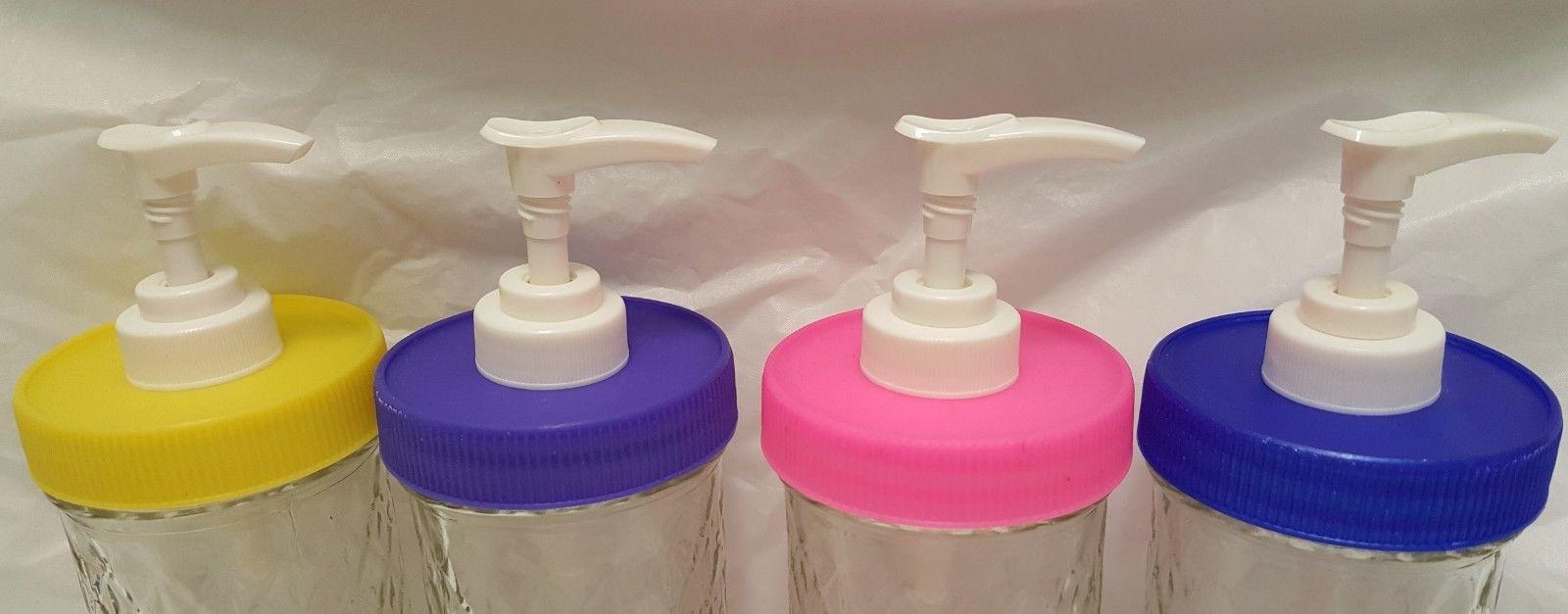 Mason Jar Soap/Lotion/Condiment Dispenser Lid/Pump Guarantee
