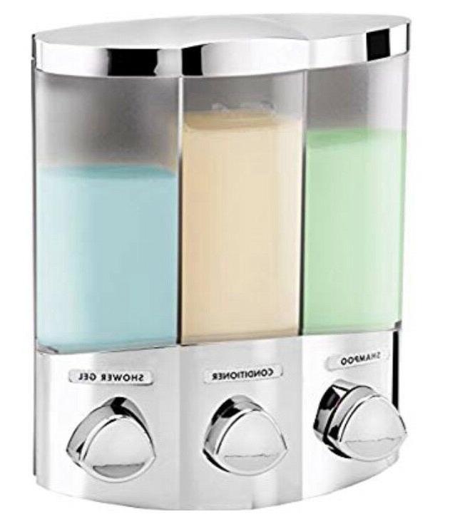 Better Euro TRIO 3-Chamber Soap Shower