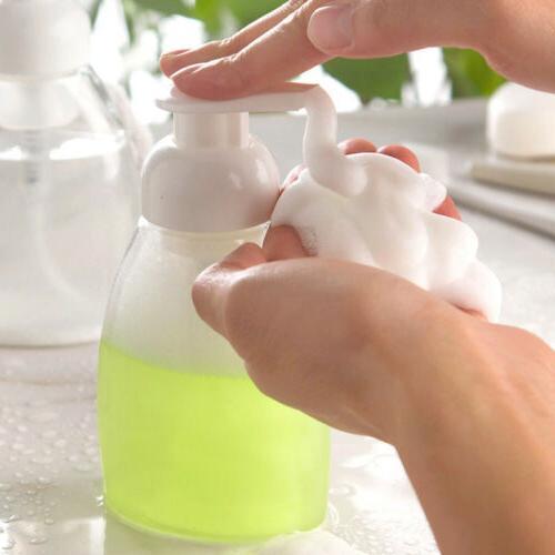 Pump Soap Holder Home Kitchen Bathroom Organizer Bottle