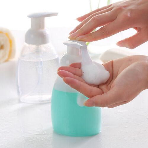 Pump Soap Dispenser Sponge Holder Storage Home Kitchen Bathroom Bottle