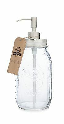 Quart Size Mason Jar Soap and Lotion Dispenser - by Jarmazin