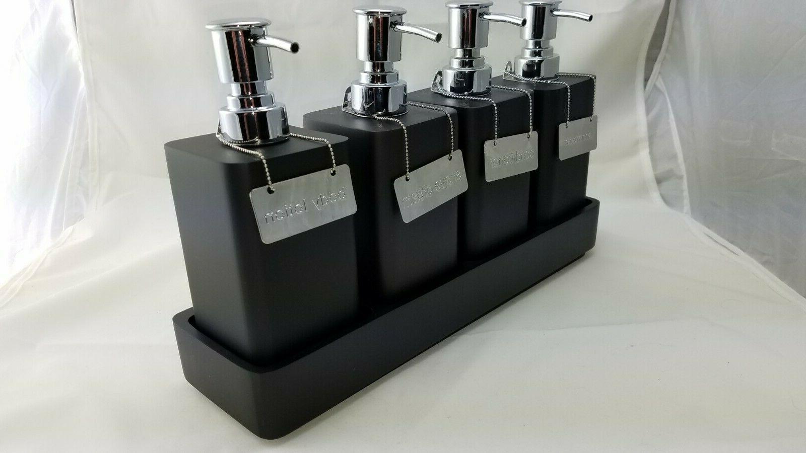Restoration Hardware Resin Shelf Set w/ Pumps