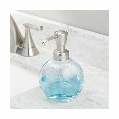 mDesign Glass Liquid Bottle Kitchen