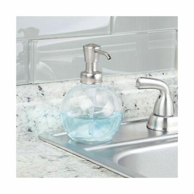 mDesign Glass Refillable Liquid Bottle for Kitchen ...