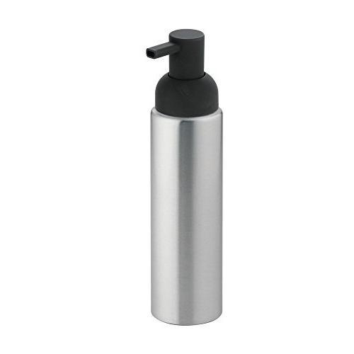mDesign Rustproof Soap Dispenser Kitchen Countertops of Charcoal