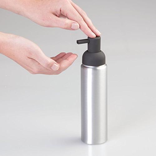 mDesign Soap Pump Kitchen Countertops of