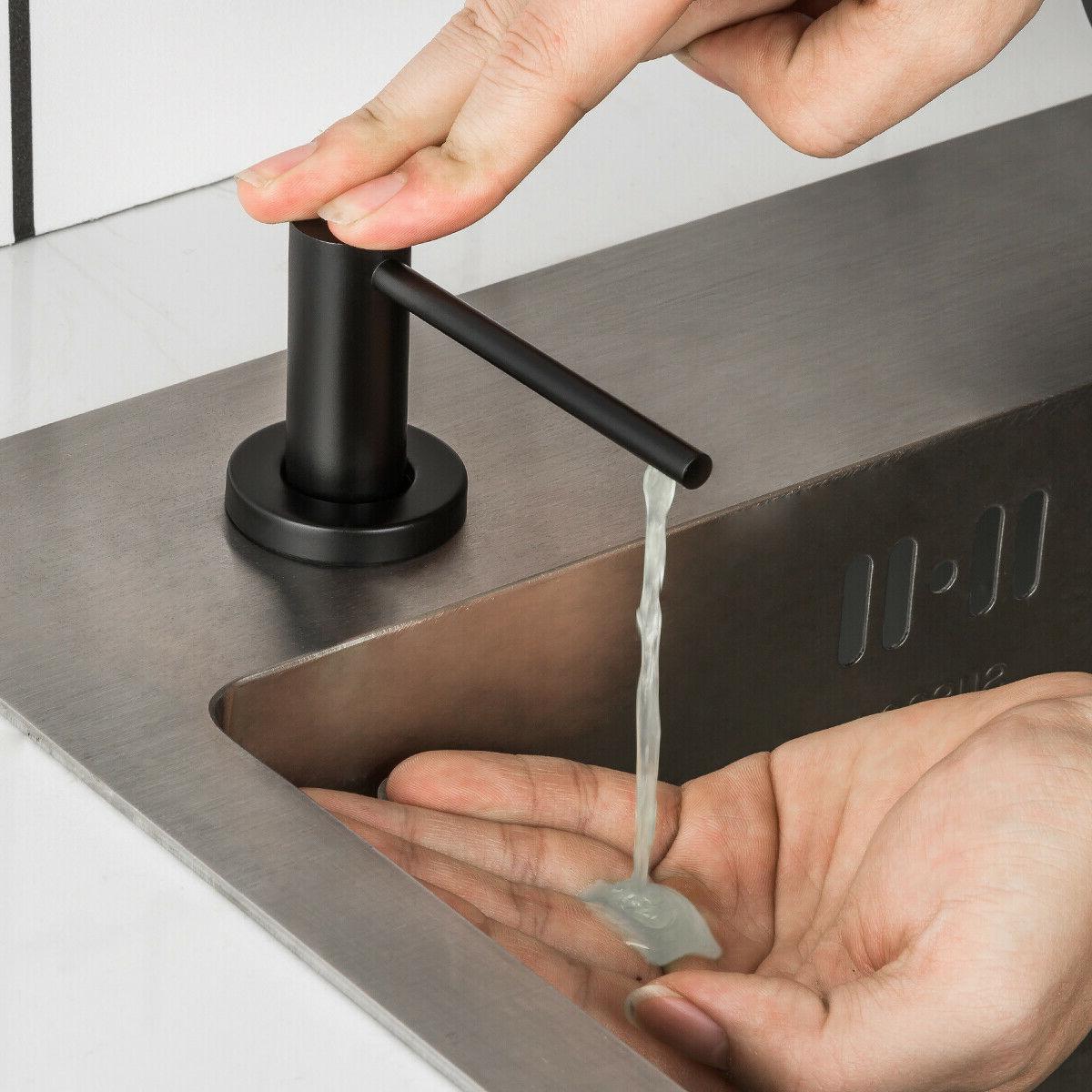 Sink Kitchen Liquid Soap Dish Bottle