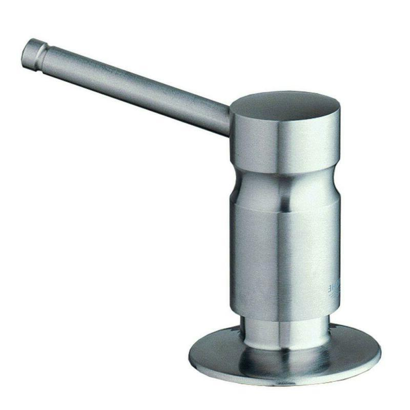 Wall Mounted Cream Soap Lotio Dispenser Holder Stainless Ste