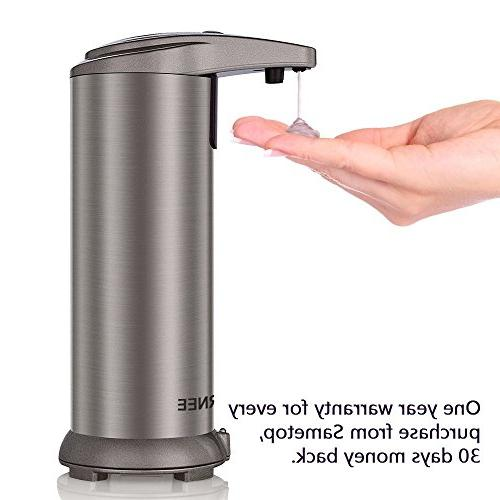 Soap Touchless Resistant IR Sensor Free Soap Dispenser Perfect and Bathroom
