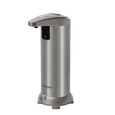 OPERNEE Soap Dispenser, Automatic Hands Free Fingerprint Res