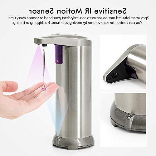 ELECHOK Touchless Automatic Soap Motion Dish Hand Soap Waterproof Base