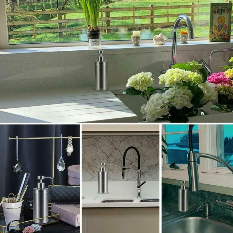 Soap Dispenser Pump Kitchen 10 304L Stainless Steel