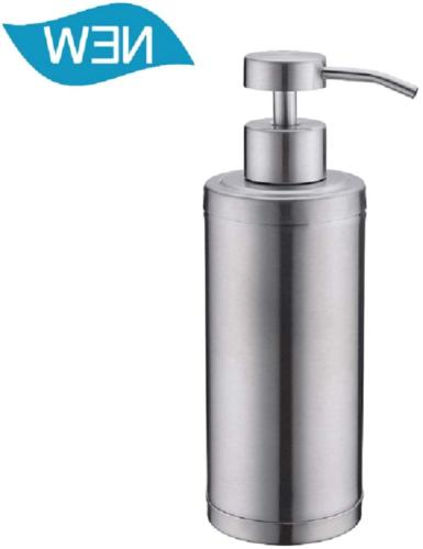 Soap Dispenser Pump Bathroom Kitchen 10Oz Stainless Steel Co