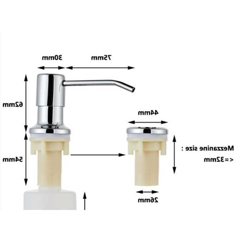 Soap Dispenser For Kitchen Kit 115cm Tube US