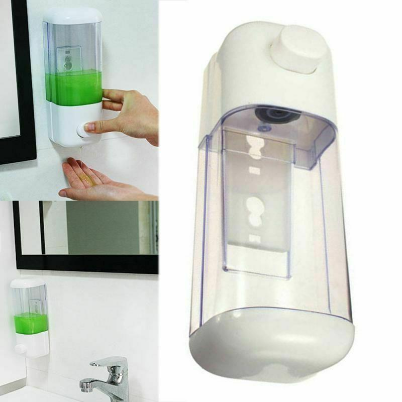 Liquid Bathroom Mount Container