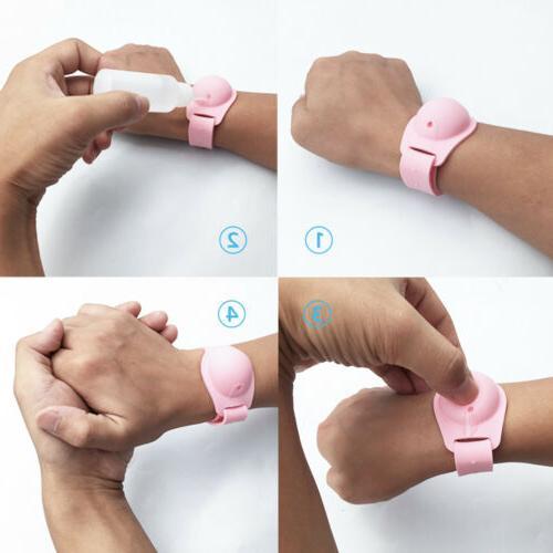 3pcs Bracelet Hand Squeeze Bottle US