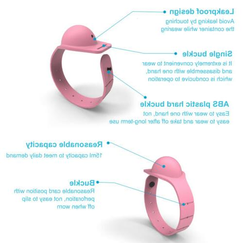 3pcs Wristband Hand Soap Band Squeeze US