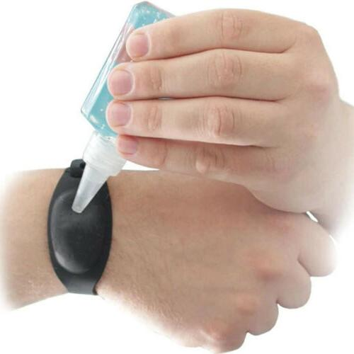 Portable Soap Wristband Band Squeeze *3