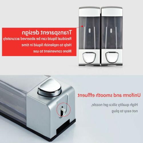 Soap Liquid Wash Gel Pump Wall Mount Press