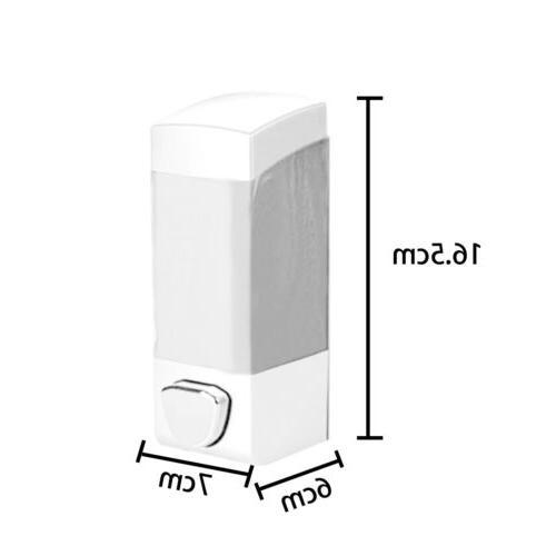 Soap Liquid Wash Wall Mount Dispenser Hand Press