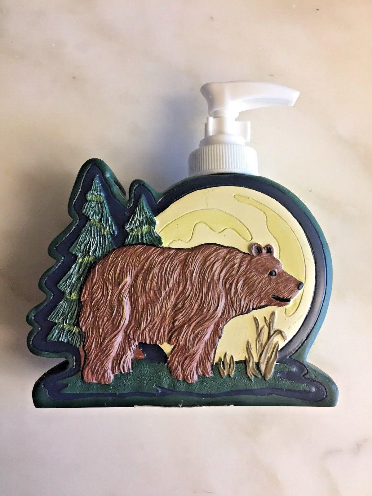 Soap Lotion Dispenser Lodge Northwoods Bathroom Accessory Co