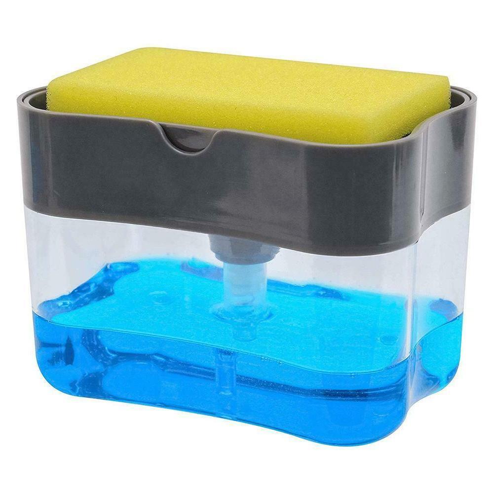 Soap Dispenser Sponge Holder for Soap Sponge Kitchen