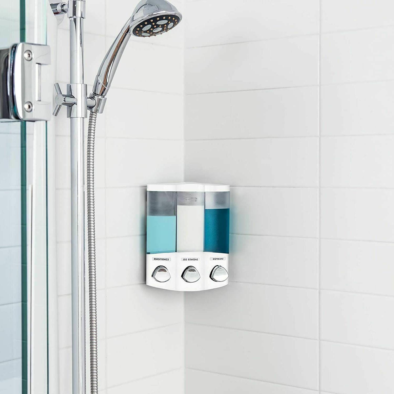 Soap Dispenser Shower Wall Mounted Bathroom Body Gel
