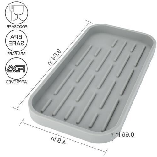 Sponge Holder - Kitchen Sink Organizer - For Soap Dispenser Large