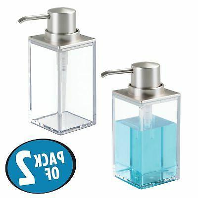 mDesign Plastic Soap