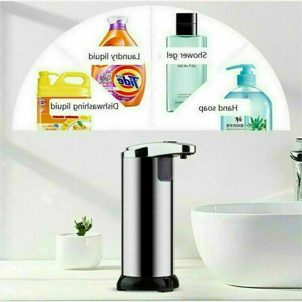 Stainless Steel Soap Motion Sensor