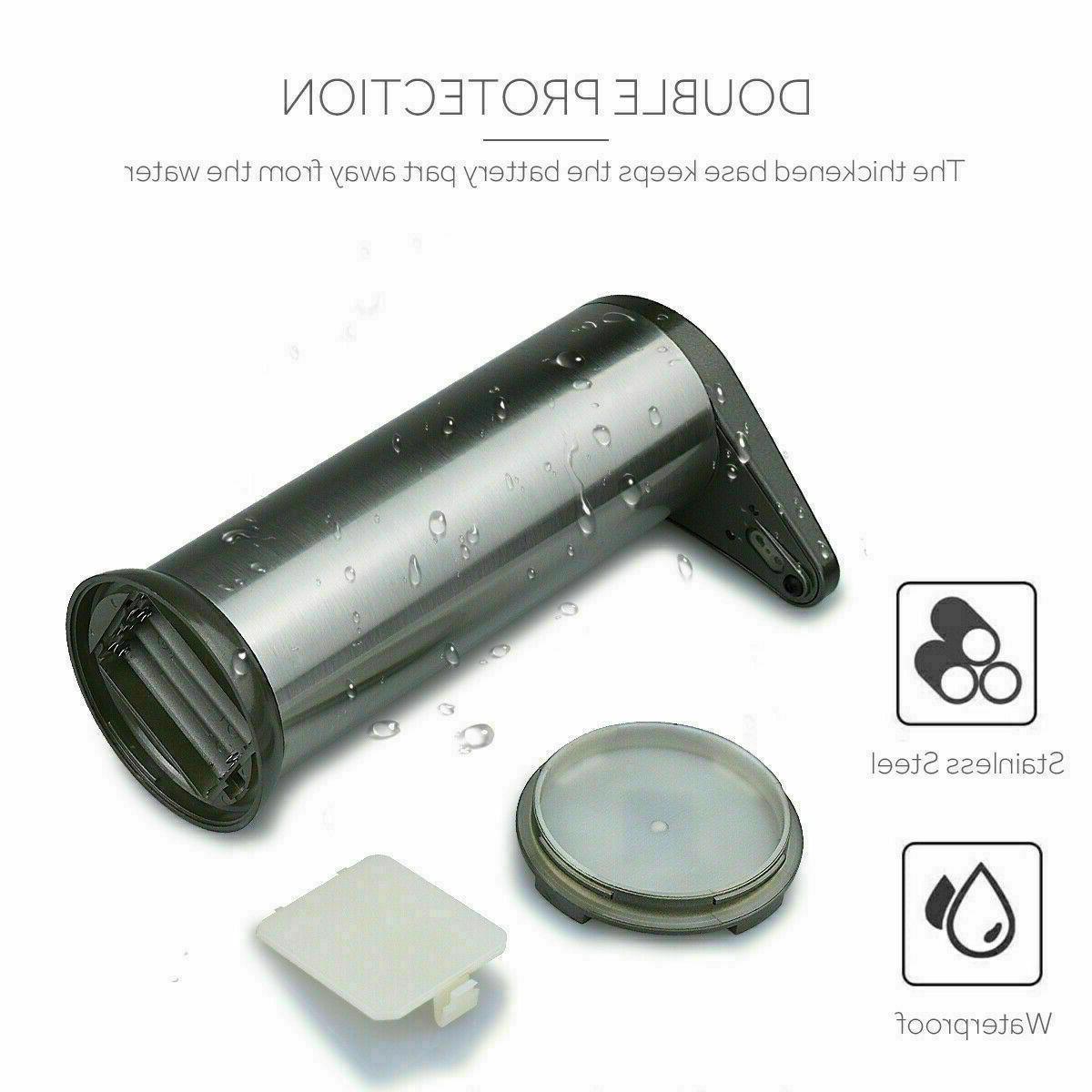 Stainless Soap Dispenser Motion