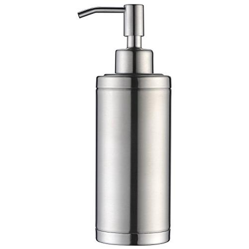 stainless steel countertop sink soap