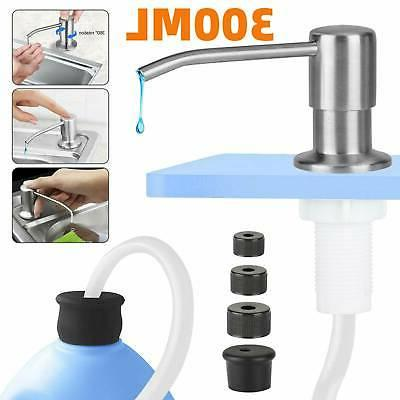 stainless steel soap dispenser 47 exteon tube