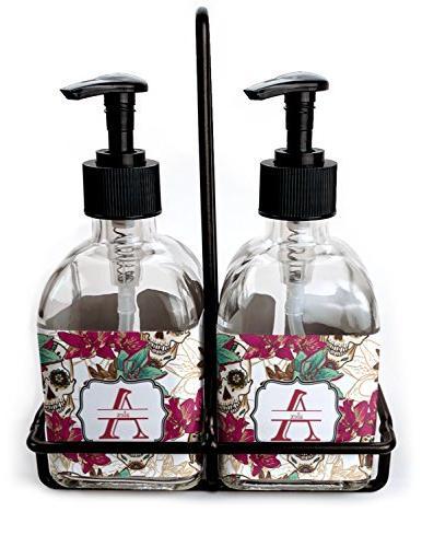 sugar skulls flowers soap lotion