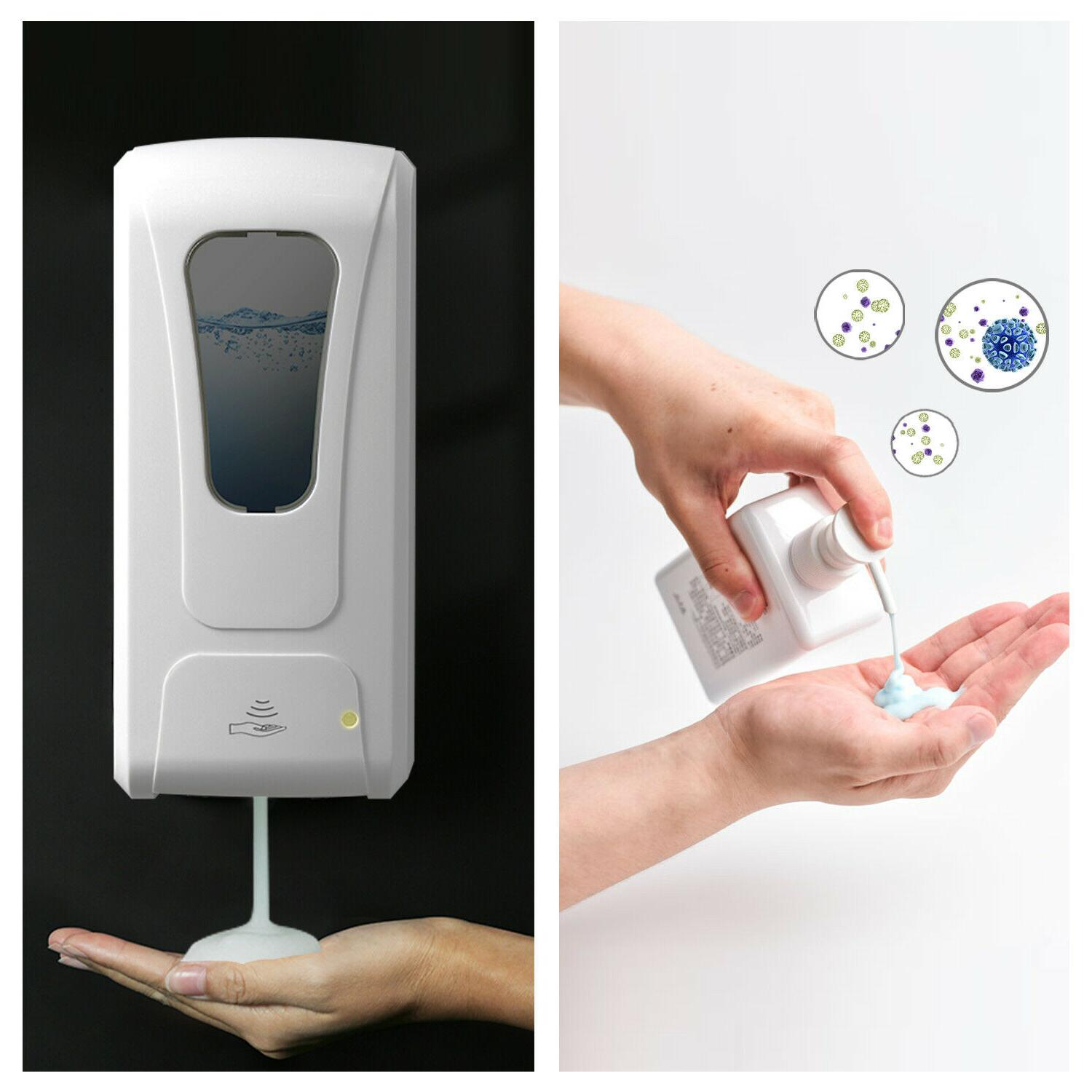 Touch-Free Wall Mounted 1000ml