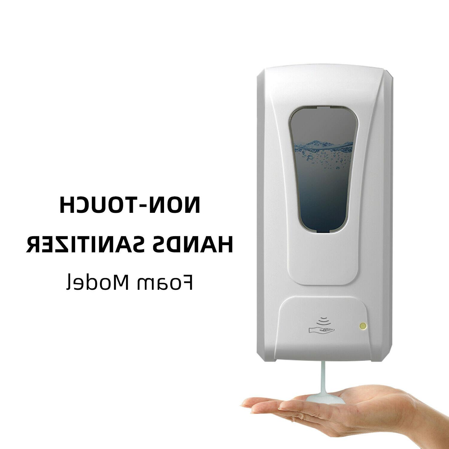 touch free foam soap dispenser wall mounted
