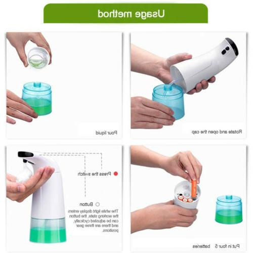 Touchless Infrared Automatic Hand Washer