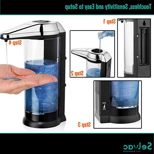 Touchless Dispenser - ANTI-LEAKAGE Soap Motion- Free- Enjoy Hands for Year Change