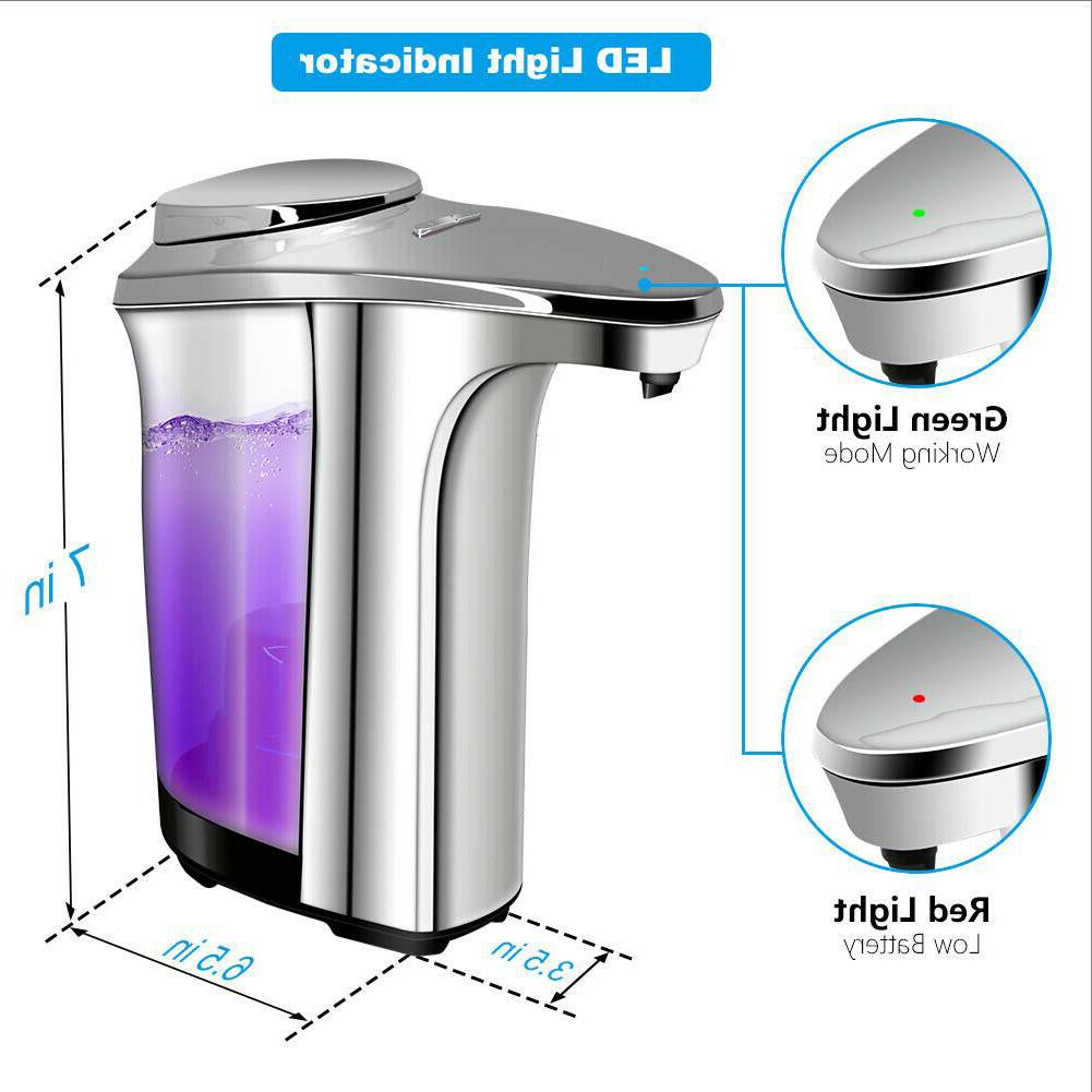 Touchless Soap Operated Electric Dispensing