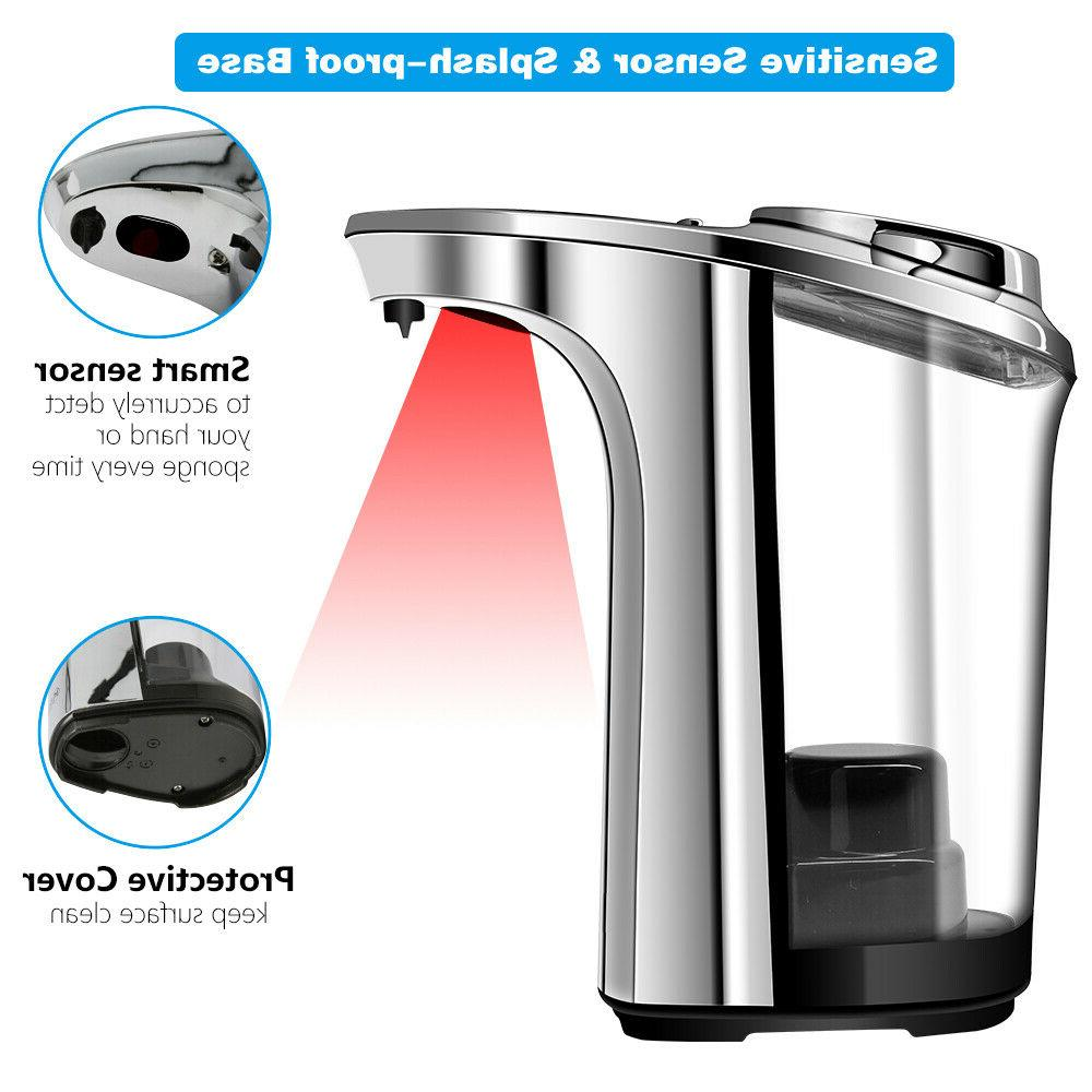 Touchless Soap Dispenser, Operated Electric Automatic Dispensing