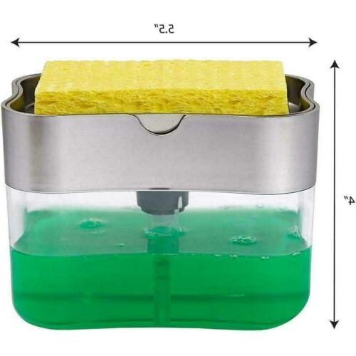 2in1 Soap & Dish for Kitchen