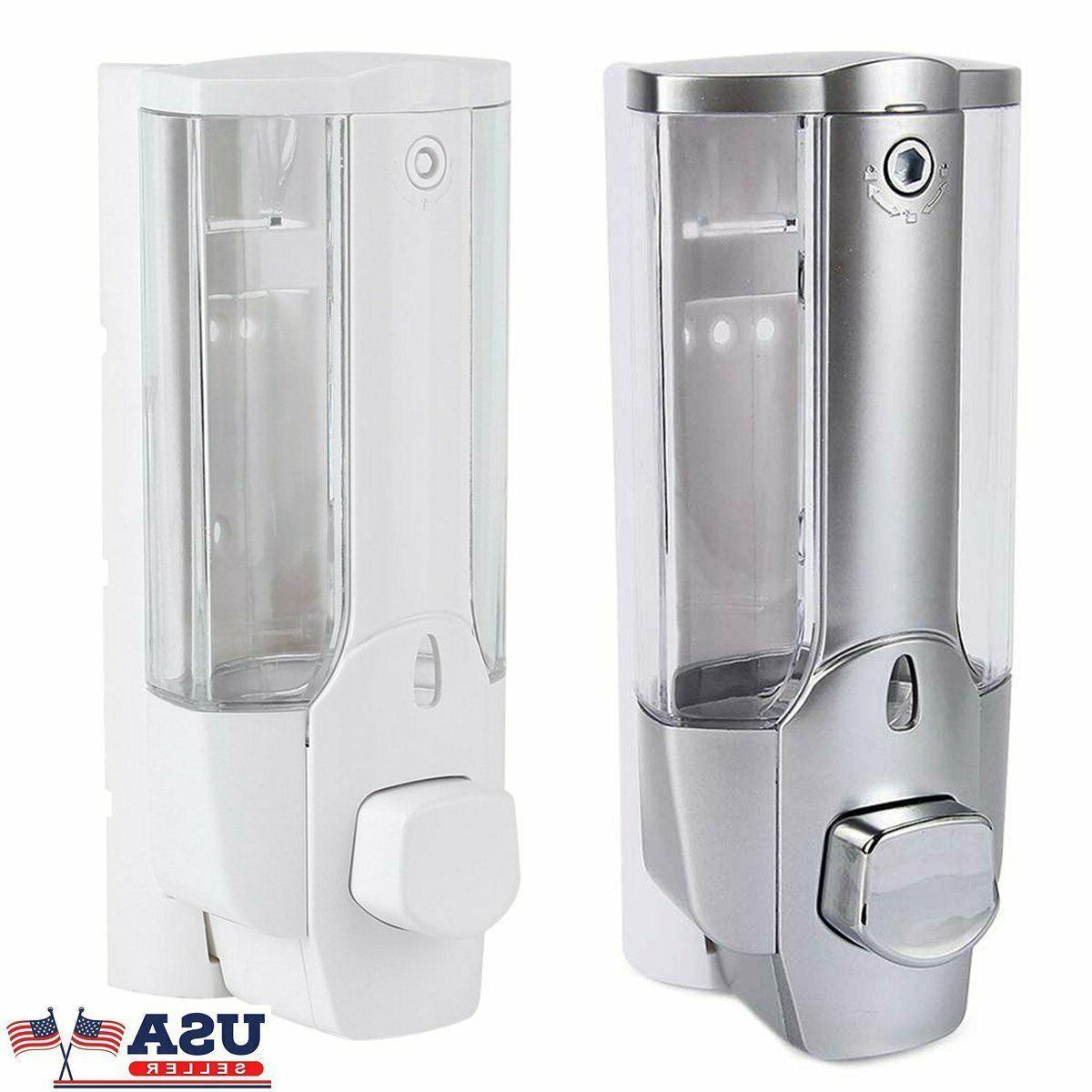 Wall Mounted Liquid Soap Dispenser Bathroom Hand Sanitizer S