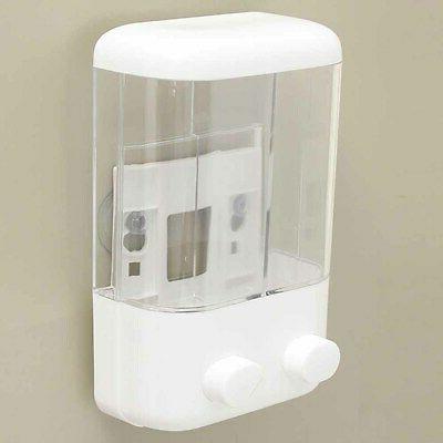 Durable Shower Gel Body Lotion Wall Mount Dispenser Bathroom