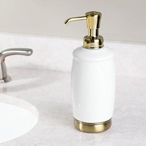 White Brass Finish York Ceramic Pump ,12