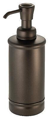 INTERDESIGN York Bathroom Lotion/Soap Dispenser, Bronze 7638