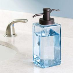 Mdesign Liquid Hand Soap Glass Dispenser Pump Bottle For Kit